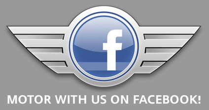 Motor with us on Facebook!