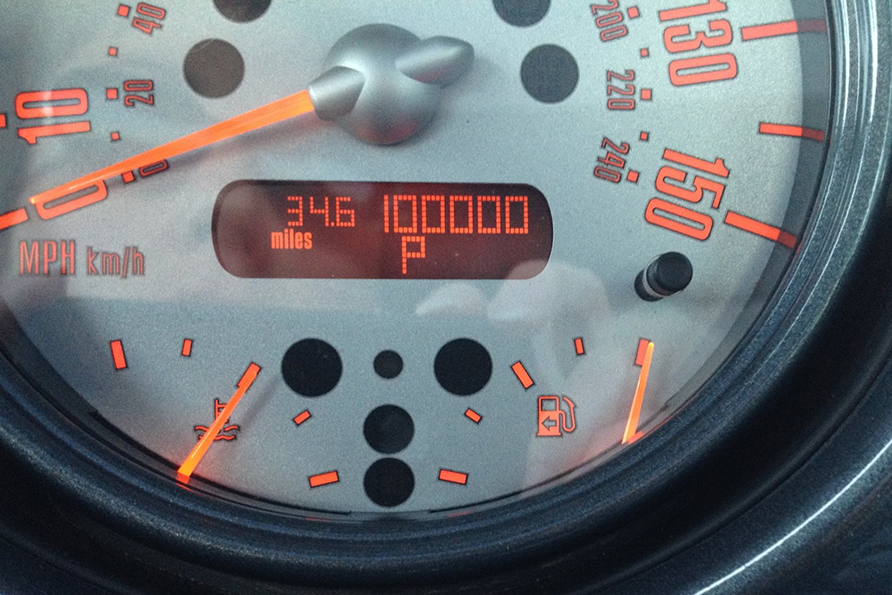 Achievement unlocked! Happy turned 100,000 on the motor home!